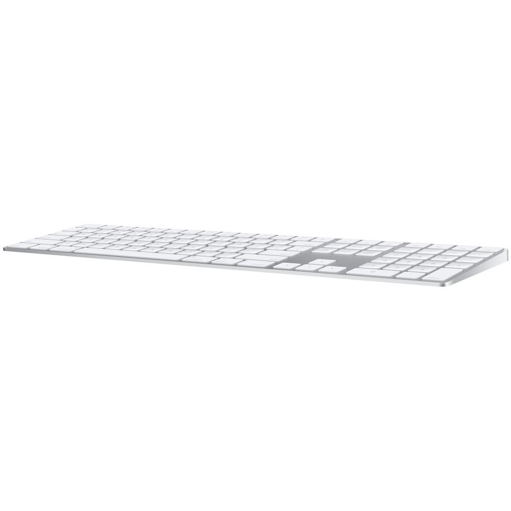 Клавиатура Apple Magic Keyboard с цифровой панелью (MQ052RS/A), серебристый цвет