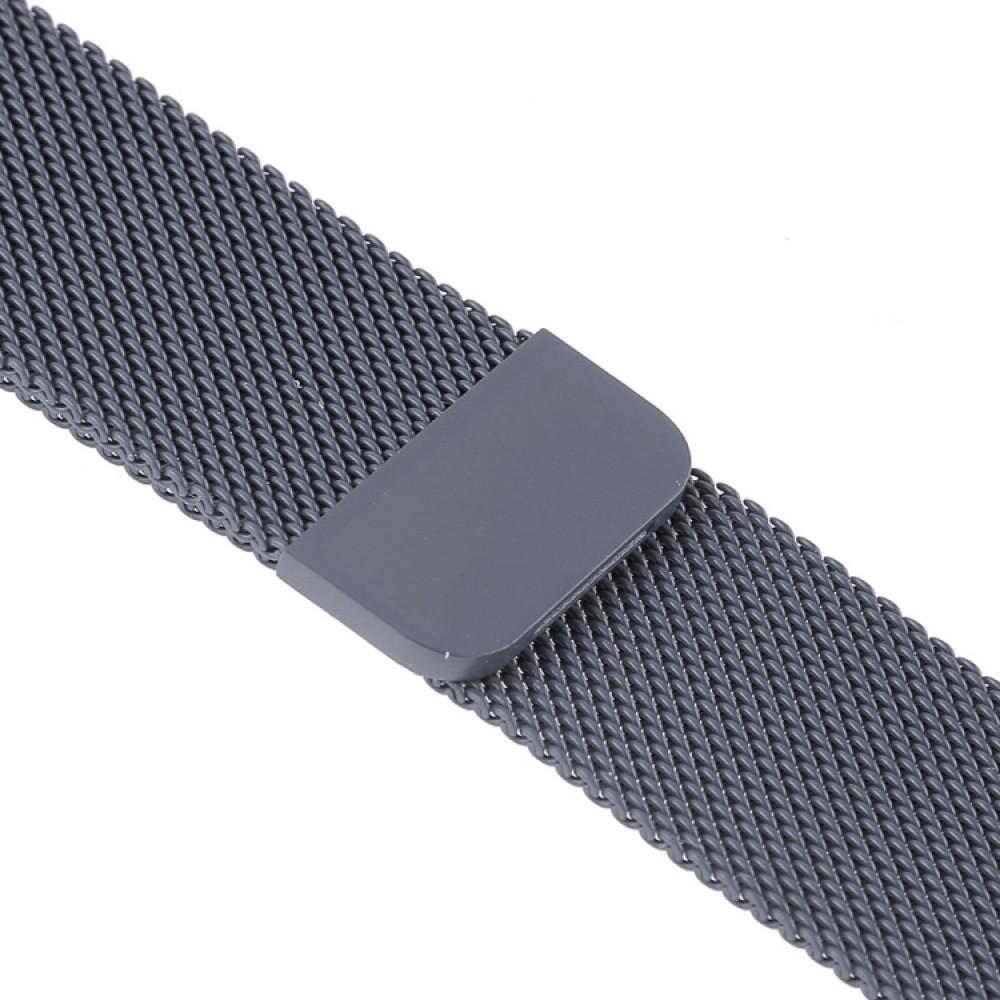 Браслет миланский сетчатый для Apple Watch 38/40 мм, тёмно-серый цвет