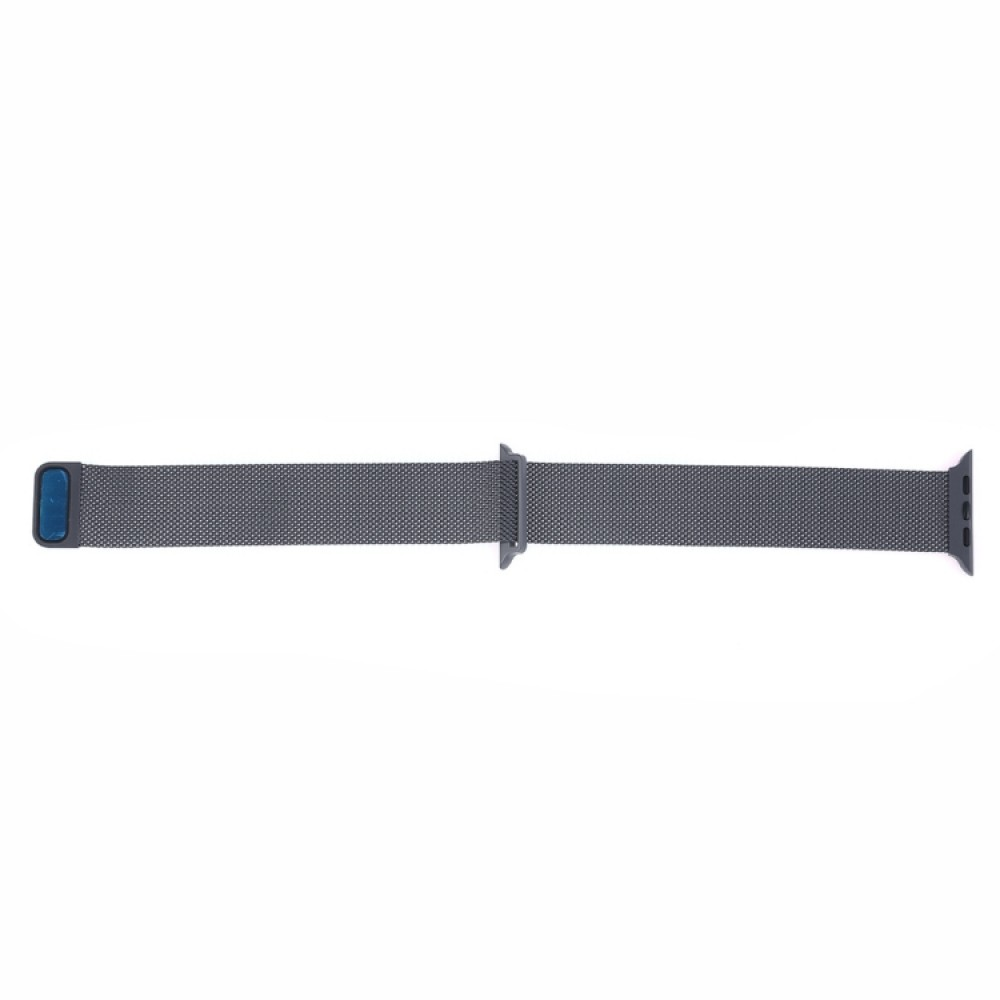 Браслет миланский сетчатый для Apple Watch 42/44 мм, тёмно-серый цвет