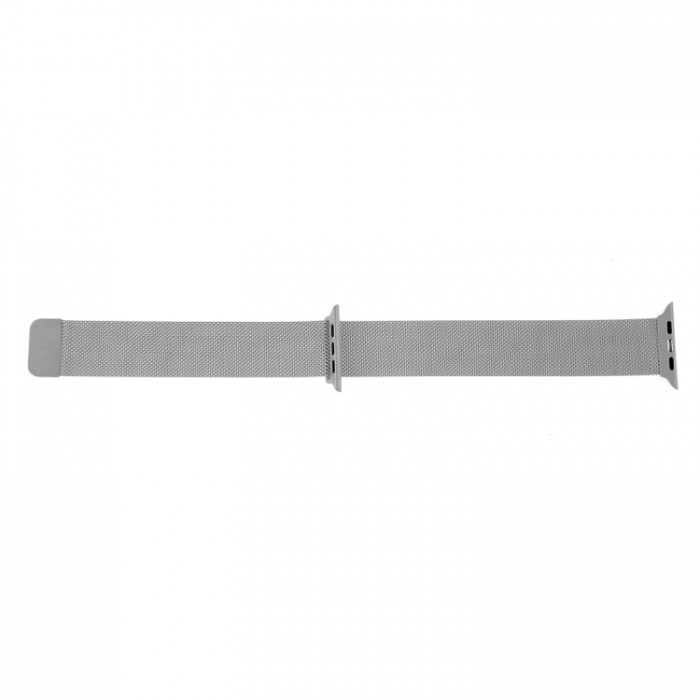 Браслет миланский сетчатый для Apple Watch 38/40 мм, серый цвет