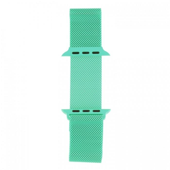 Браслет миланский сетчатый для Apple Watch 42/44 мм, мятный цвет