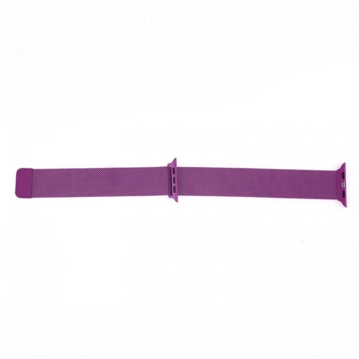 Браслет миланский сетчатый для Apple Watch 42/44 мм, сиреневый цвет