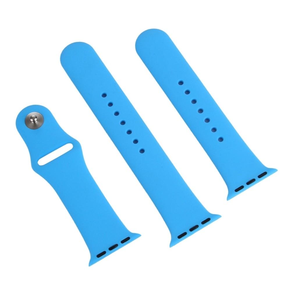 Ремешок спортивный для Apple Watch 42/44 мм, синий цвет