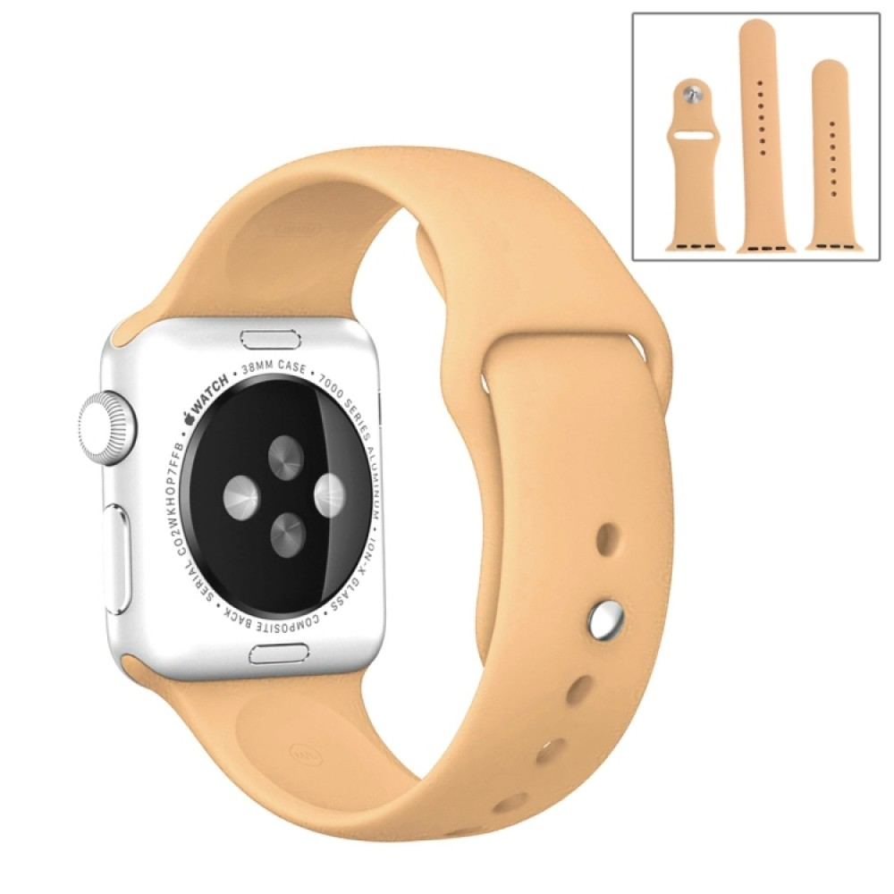 Ремешок спортивный для Apple Watch 42/44 мм, песочный цвет