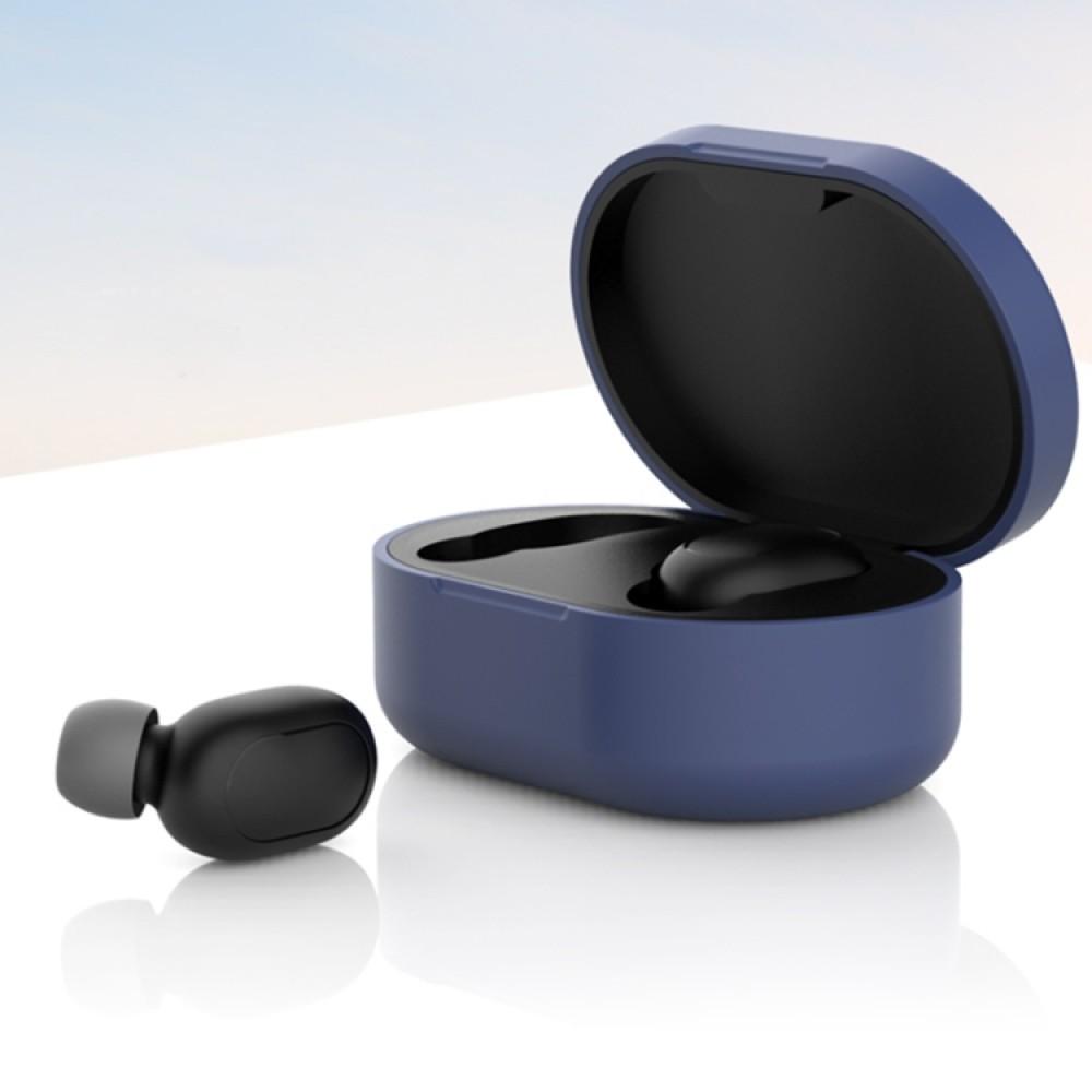Чехол силиконовый для Redmi AirDots, синий цвет