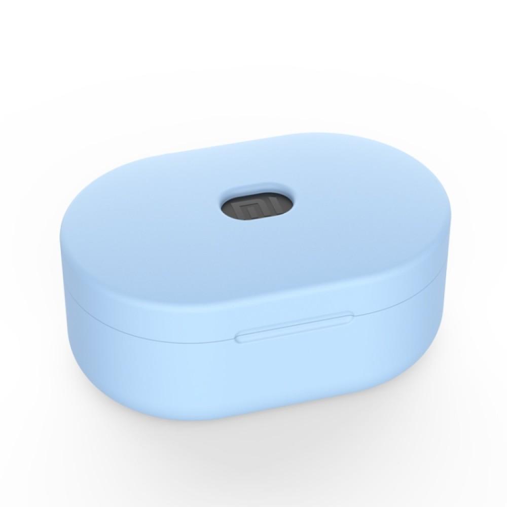Чехол силиконовый для Redmi AirDots, голубой цвет