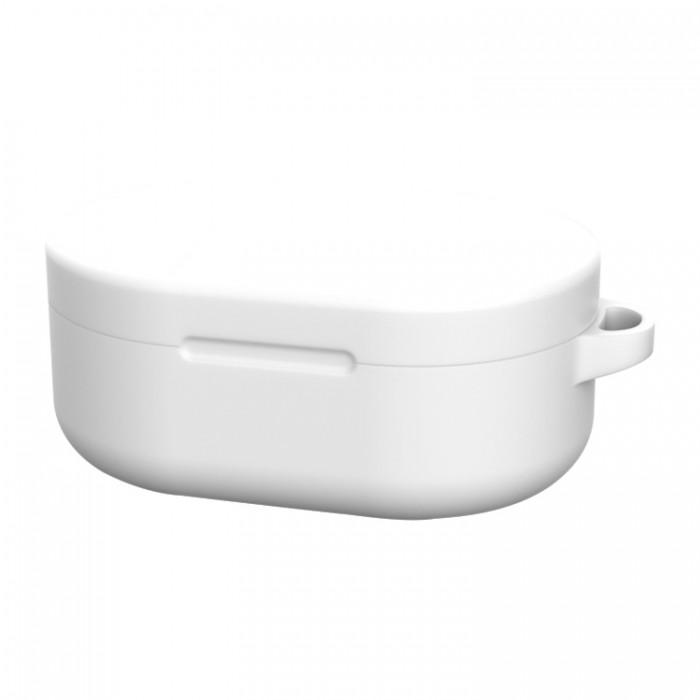 Чехол силиконовый для Redmi AirDots и Xiaomi AirDots Youth Edition, белый цвет