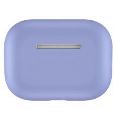 Чехол силиконовый для AirPods Pro, светло-сиреневый цвет