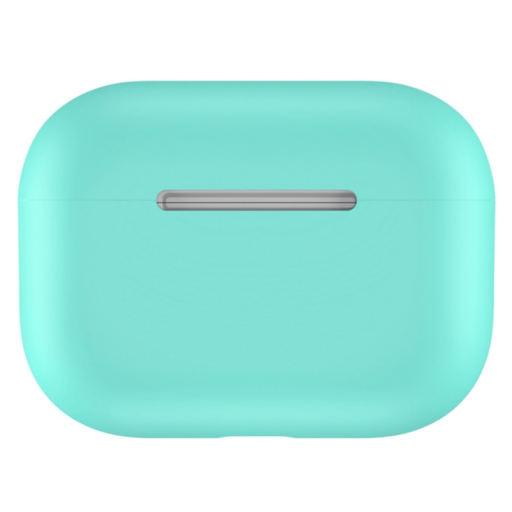 Чехол силиконовый для AirPods Pro, мятный цвет