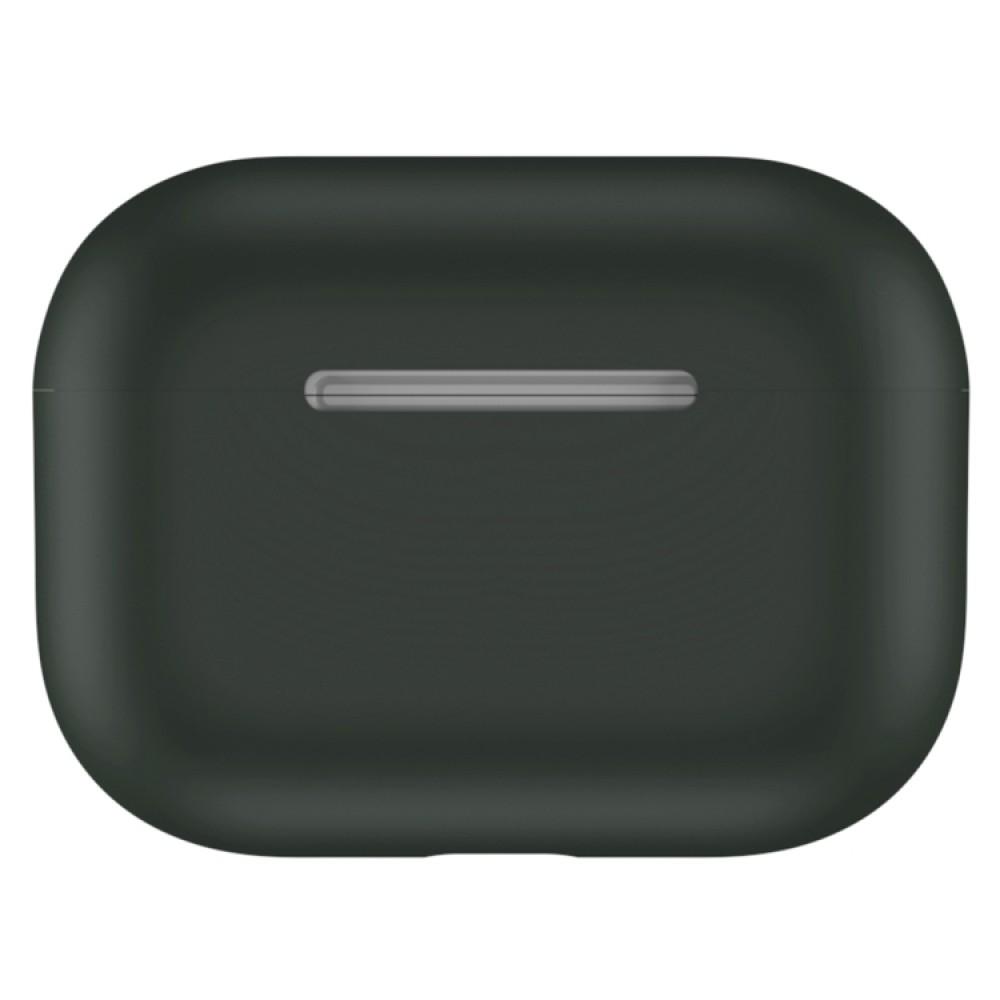 Чехол силиконовый для AirPods Pro, оливковый цвет