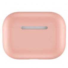 Чехол силиконовый для AirPods Pro, розовый цвет