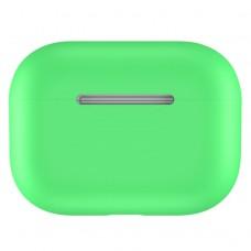Чехол силиконовый для AirPods Pro, салатовый цвет