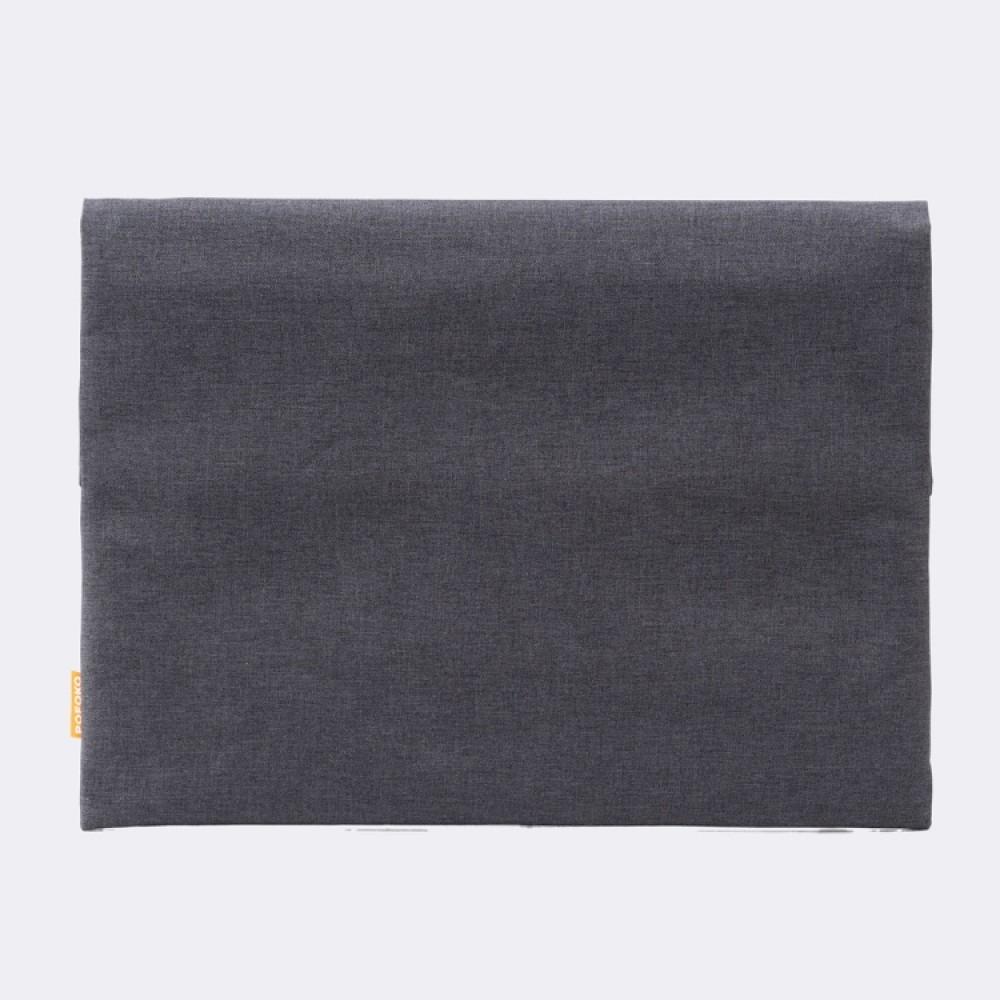 Чехол-папка Pofoko для ноутбука 13 дюймов, чёрный цвет