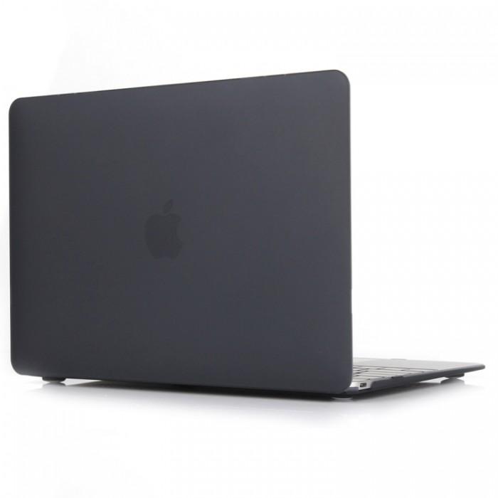 Чехол-накладка для MacBook Air 13 дюймов (модели 2018 года и новее), чёрный цвет