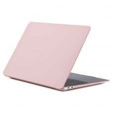 Чехол-накладка для MacBook Air 13 дюймов (модели 2018 года и новее), розовый цвет