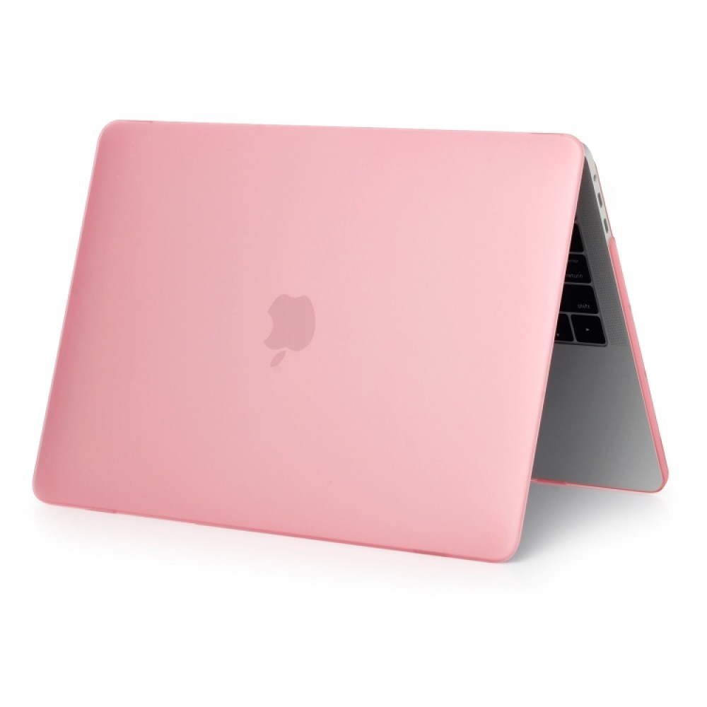 Чехол-накладка для MacBook Pro 13 дюймов (модели 2016 года и новее), розовый цвет