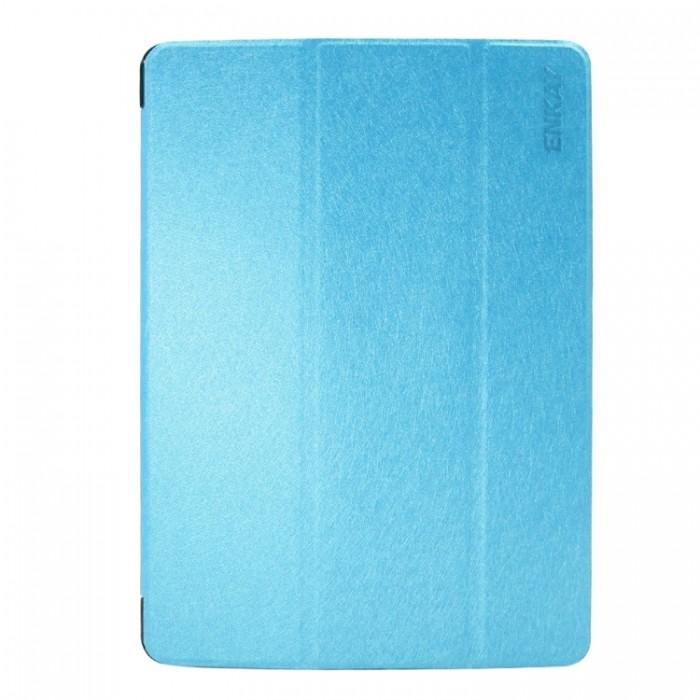 Чехол Enkay Silk для iPad 2017/2018, голубой цвет