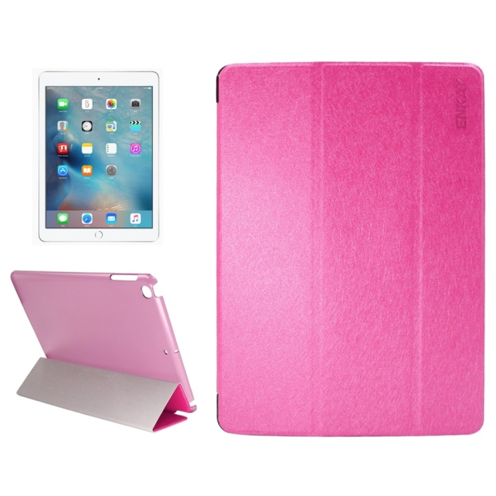 Чехол Enkay Silk для iPad 2017/2018, розовый цвет