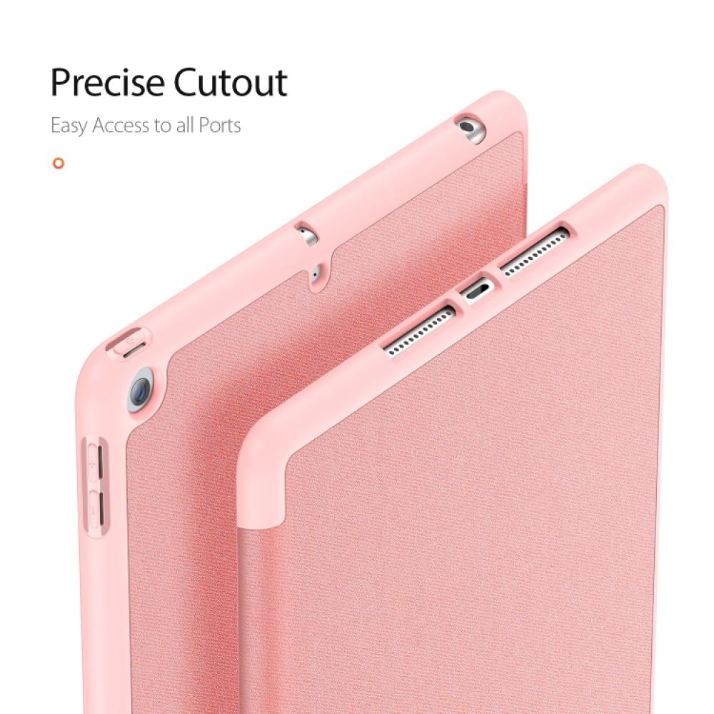 Чехол Dux Ducis Domo Series для iPad (2019) 10,2 дюйма, розовый цвет