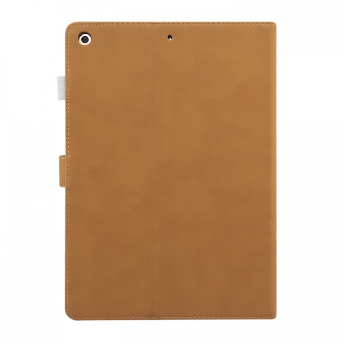 Чехол Enkay замшевая текстура для iPad (2019) 10,2 дюйма, светло-коричневый цвет