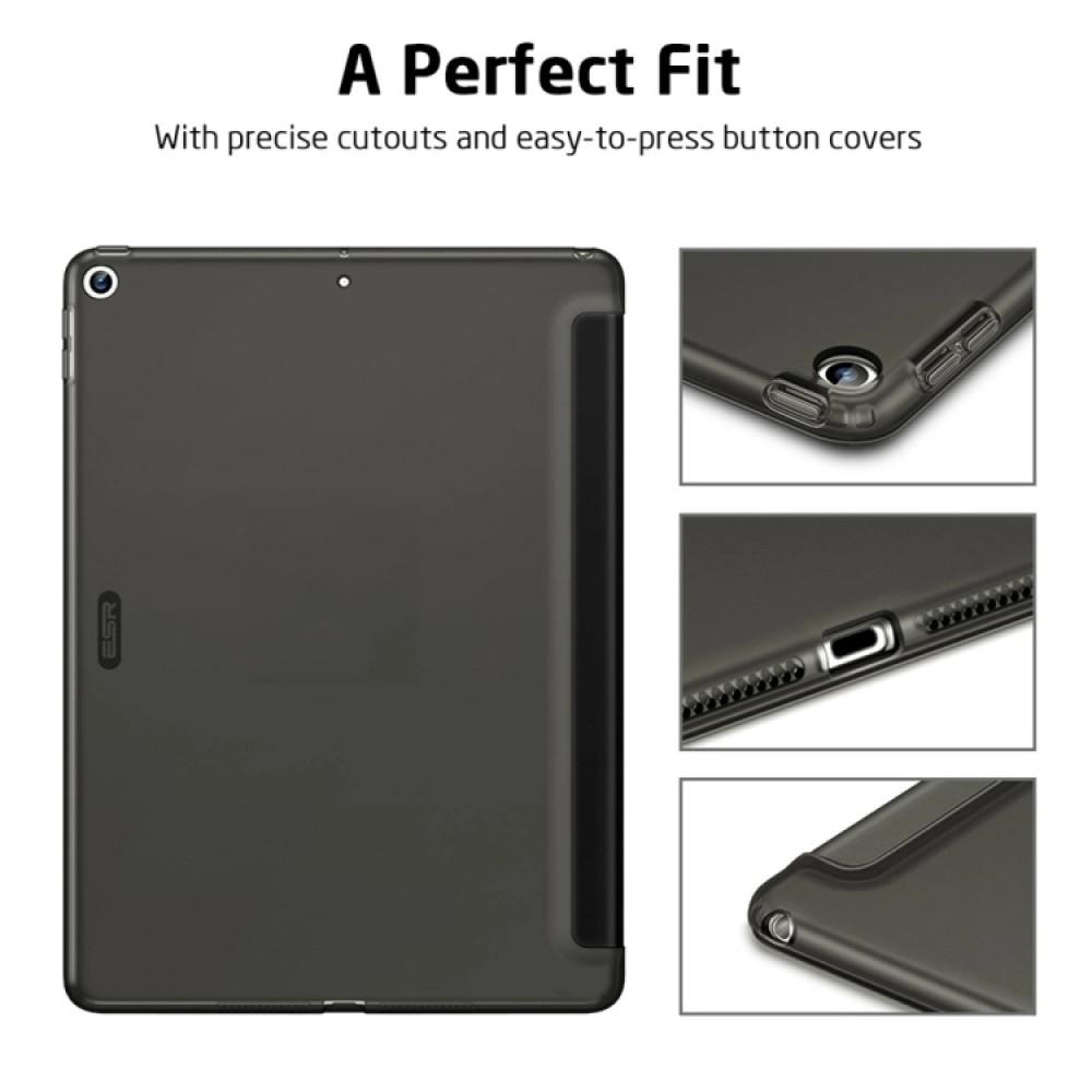 Чехол ESR Rebound для iPad (2019) 10,2 дюйма, чёрный цвет