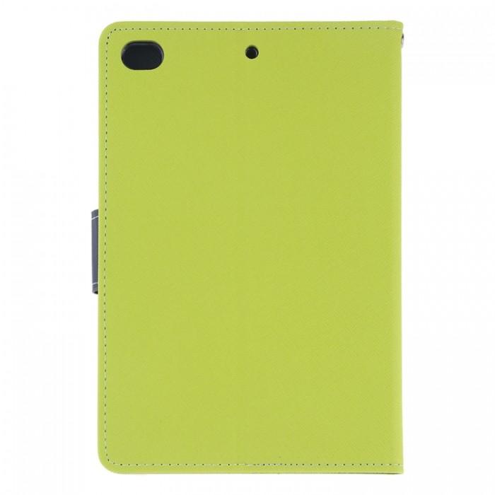 Чехол Mercury Goospery Fancy Diary Case для iPad mini 2019, салатовый цвет