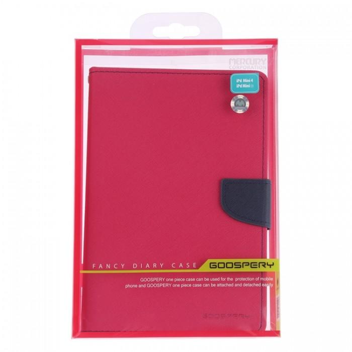 Чехол Mercury Goospery Fancy Diary Case для iPad mini 2019, цвет маджента