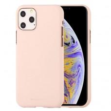 Чехол Mercury Goospery Soft Feeling для iPhone 11 Pro Max, абрикосовый цвет
