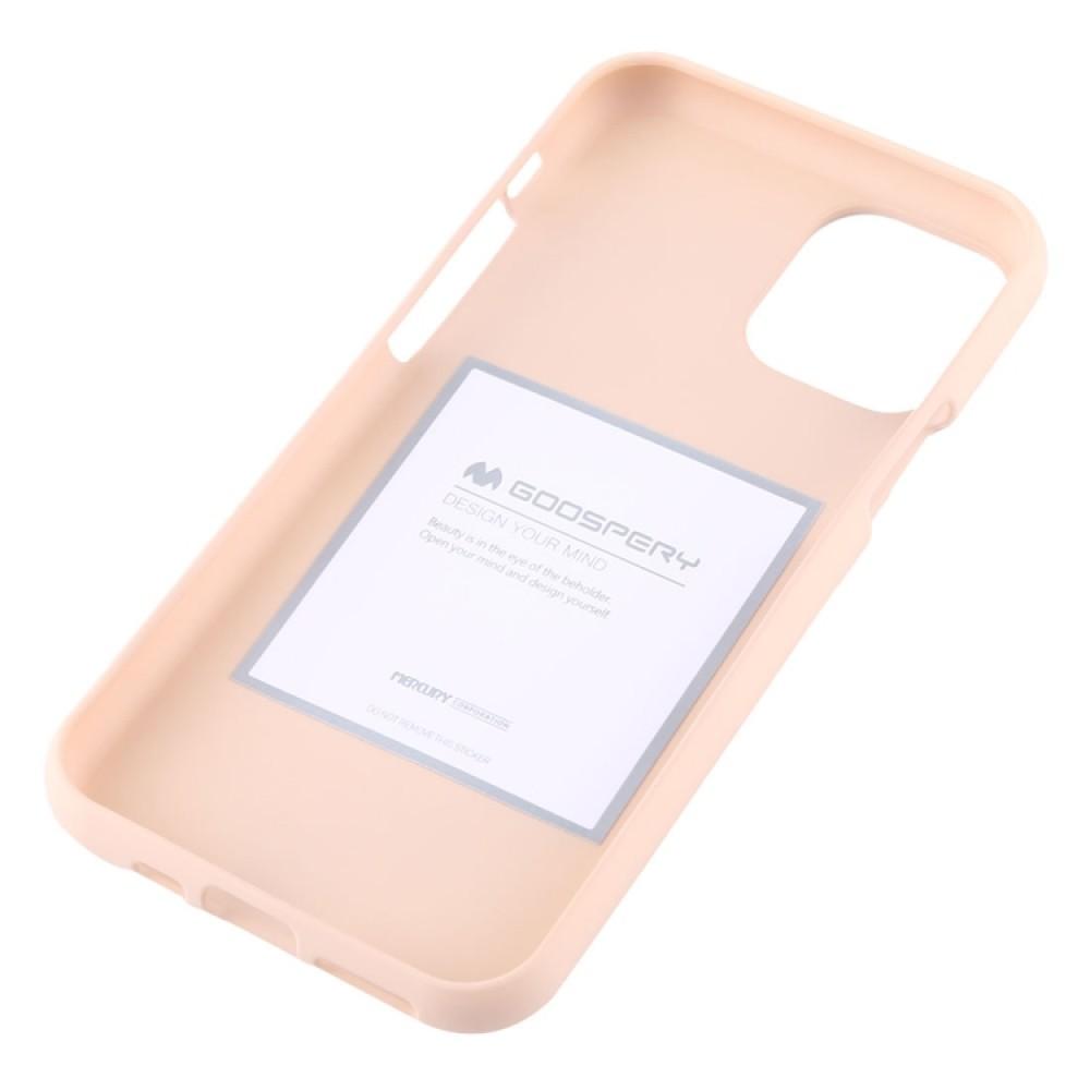 Чехол Mercury Goospery Soft Feeling для iPhone 11 Pro, абрикосовый цвет