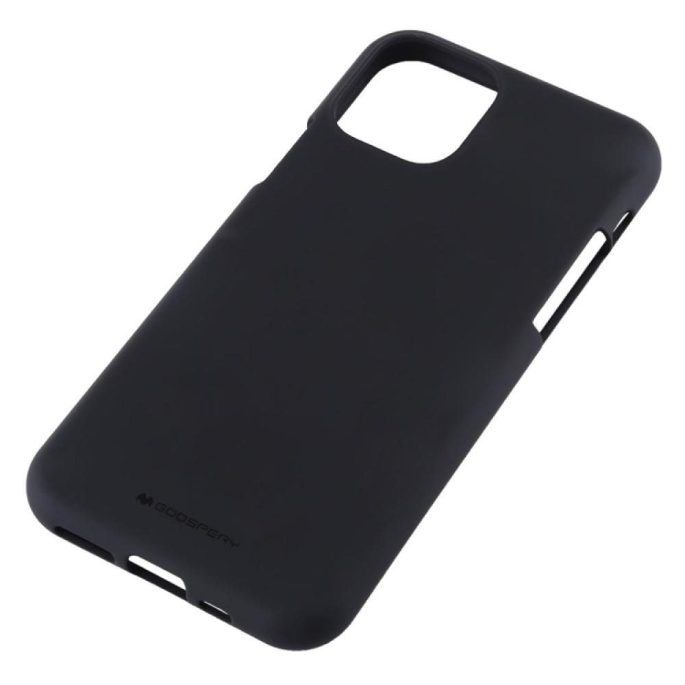 Чехол Mercury Goospery Soft Feeling для iPhone 11 Pro Max, чёрный цвет