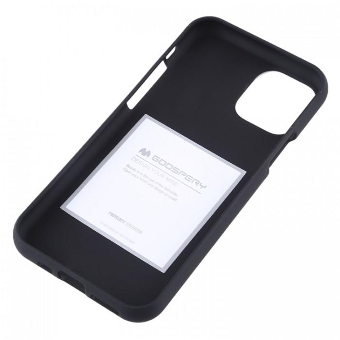 Чехол Mercury Goospery Soft Feeling для iPhone 11 Pro, чёрный цвет