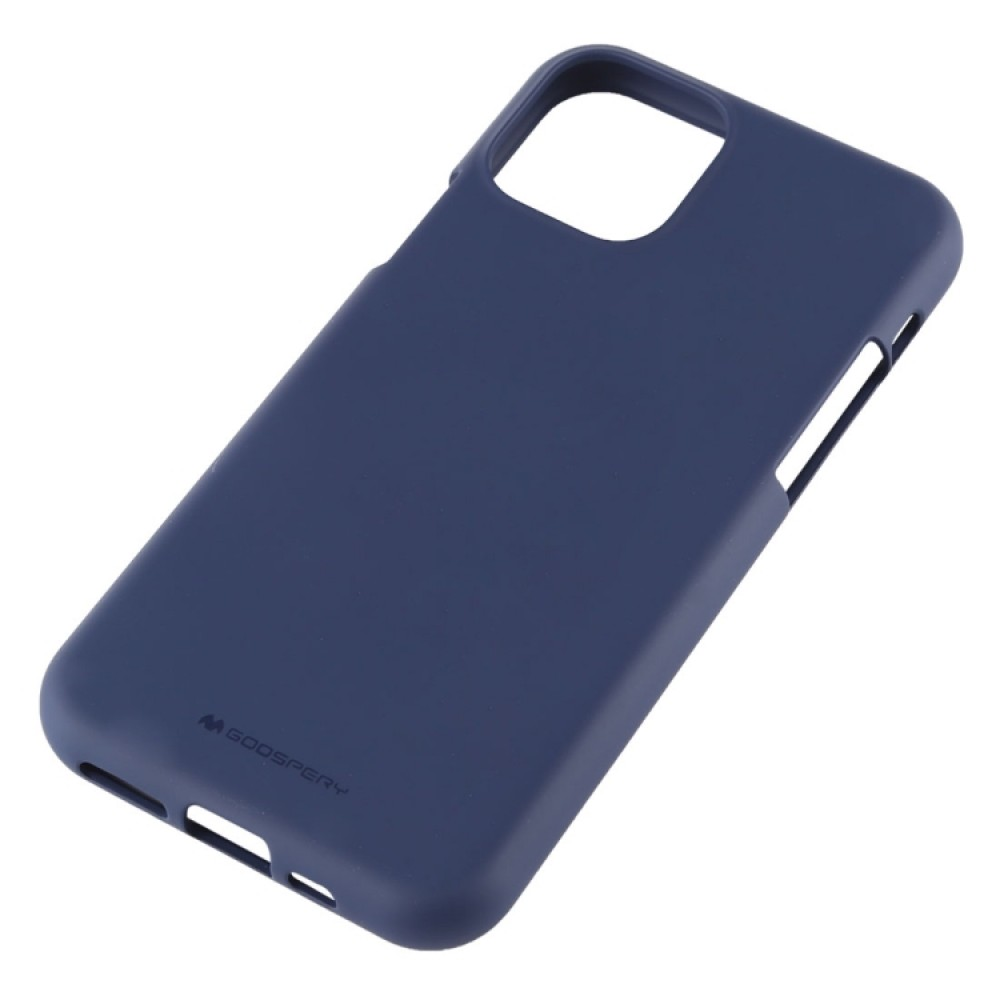 Чехол Mercury Goospery Soft Feeling для iPhone 11 Pro Max, тёмно-синий цвет