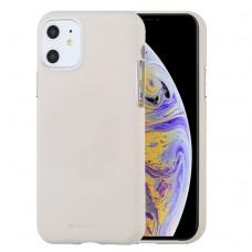 Чехол Mercury Goospery Soft Feeling для iPhone 11 Pro Max, бежевый цвет