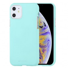 Чехол Mercury Goospery Soft Feeling для iPhone 11, мятный цвет