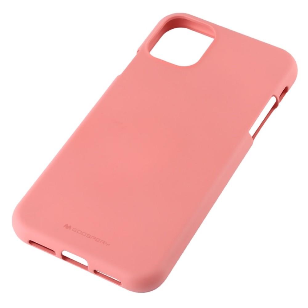 Чехол Mercury Goospery Soft Feeling для iPhone 11, розовый цвет