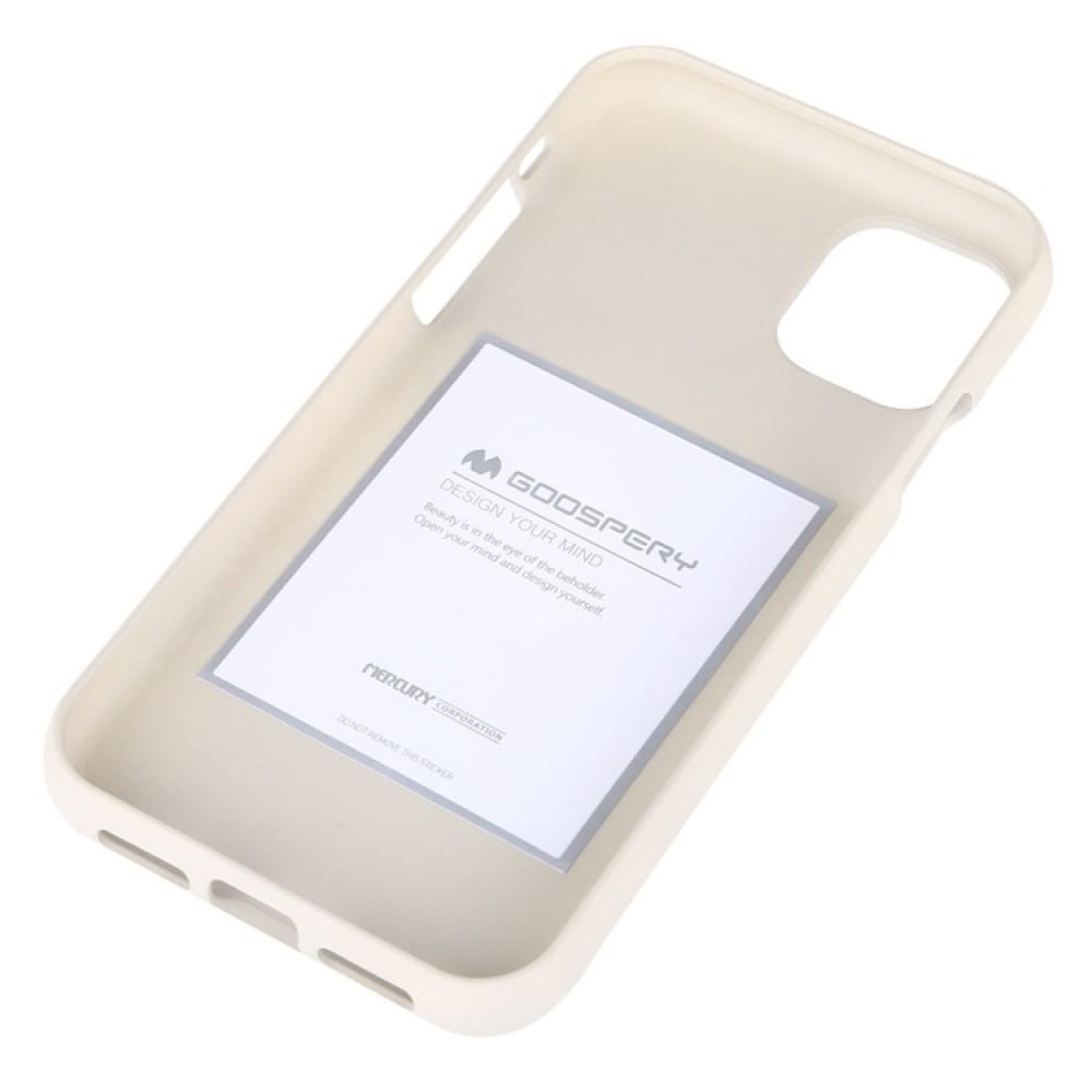Чехол Mercury Goospery Soft Feeling для iPhone 11, бежевый цвет