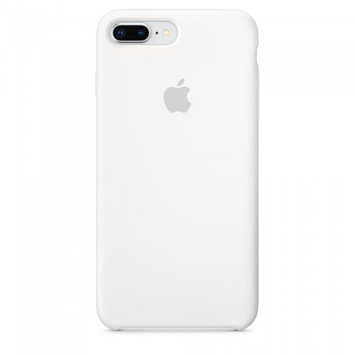 Чехол силиконовый Silicone Case для iPhone 7 Plus/8 Plus, белый цвет