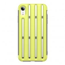 Чехол Baseus Cycling Helmet Case для iPhone XR, салатовый цвет