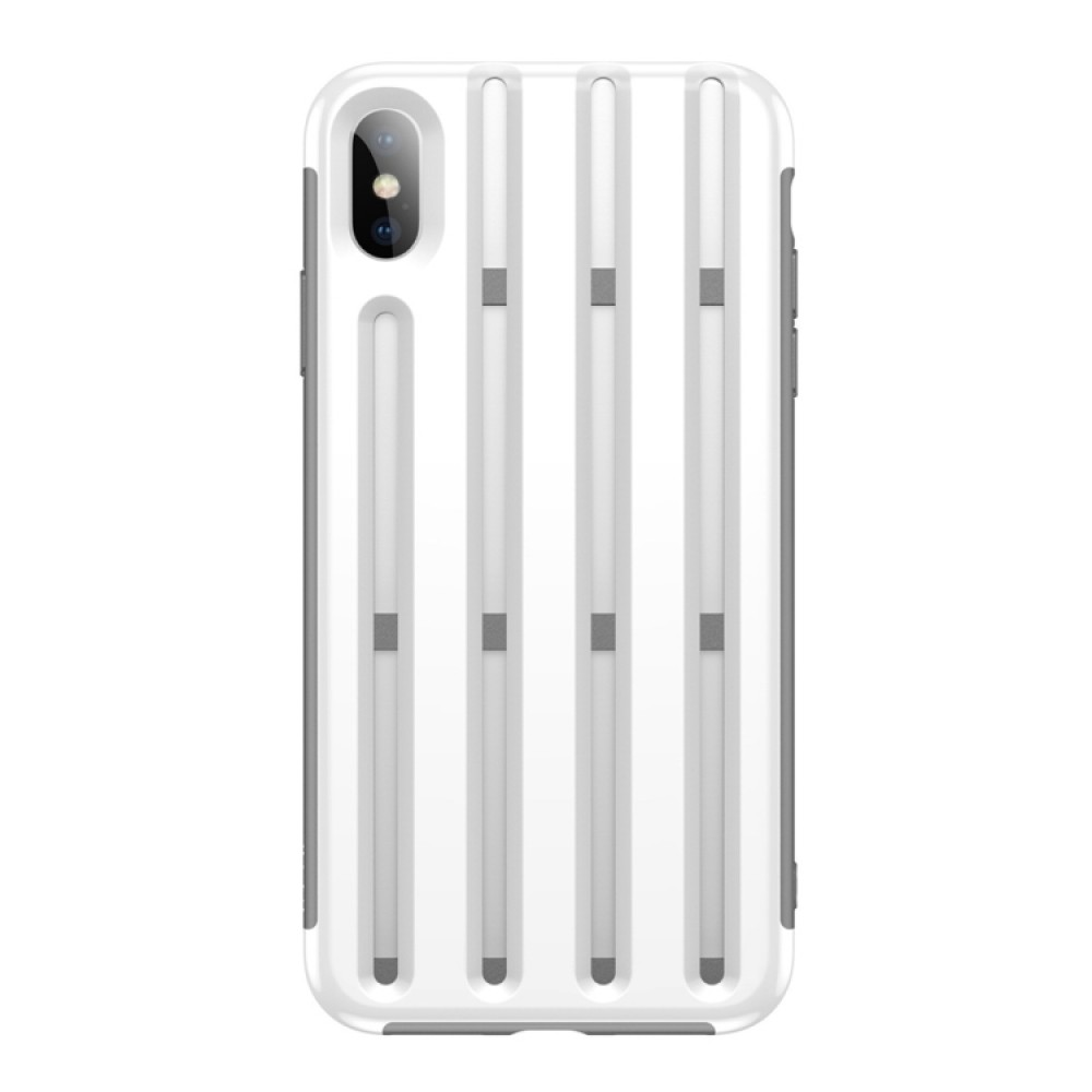 Чехол Baseus Cycling Helmet Case для iPhone XS Max, белый цвет