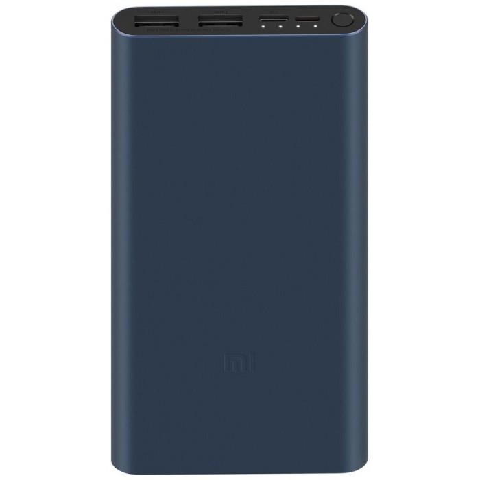 Внешний аккумулятор Xiaomi Mi Power Bank 3 10000mAh, черный цвет