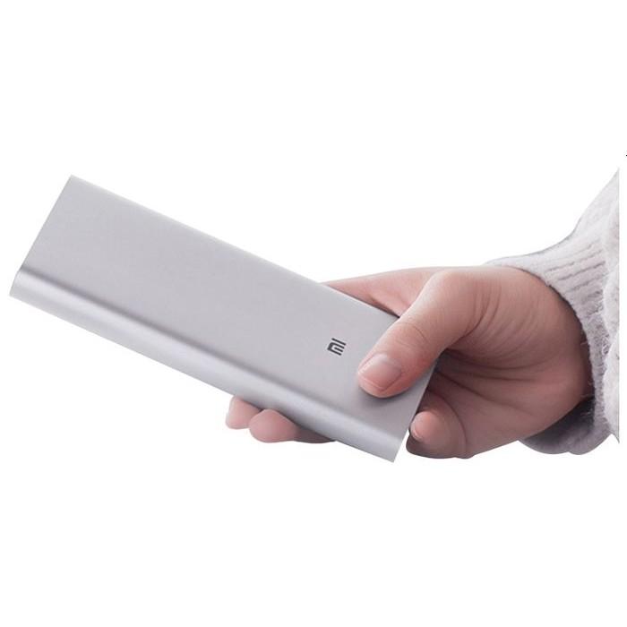 Внешний аккумулятор Xiaomi Mi Power Bank 3 10000mAh, серебристый цвет (PLM12ZM)