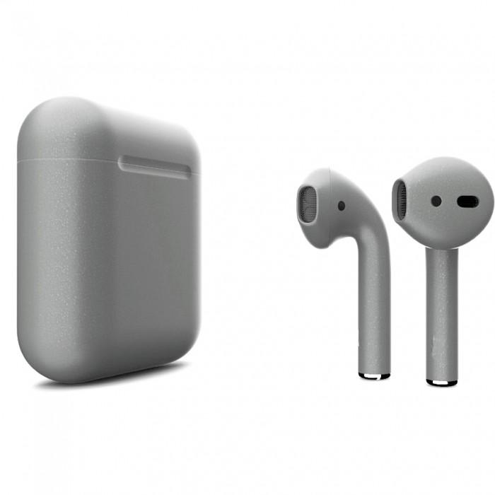 Apple AirPods 2 Color (без беспроводной зарядки чехла), матовый серый цвет