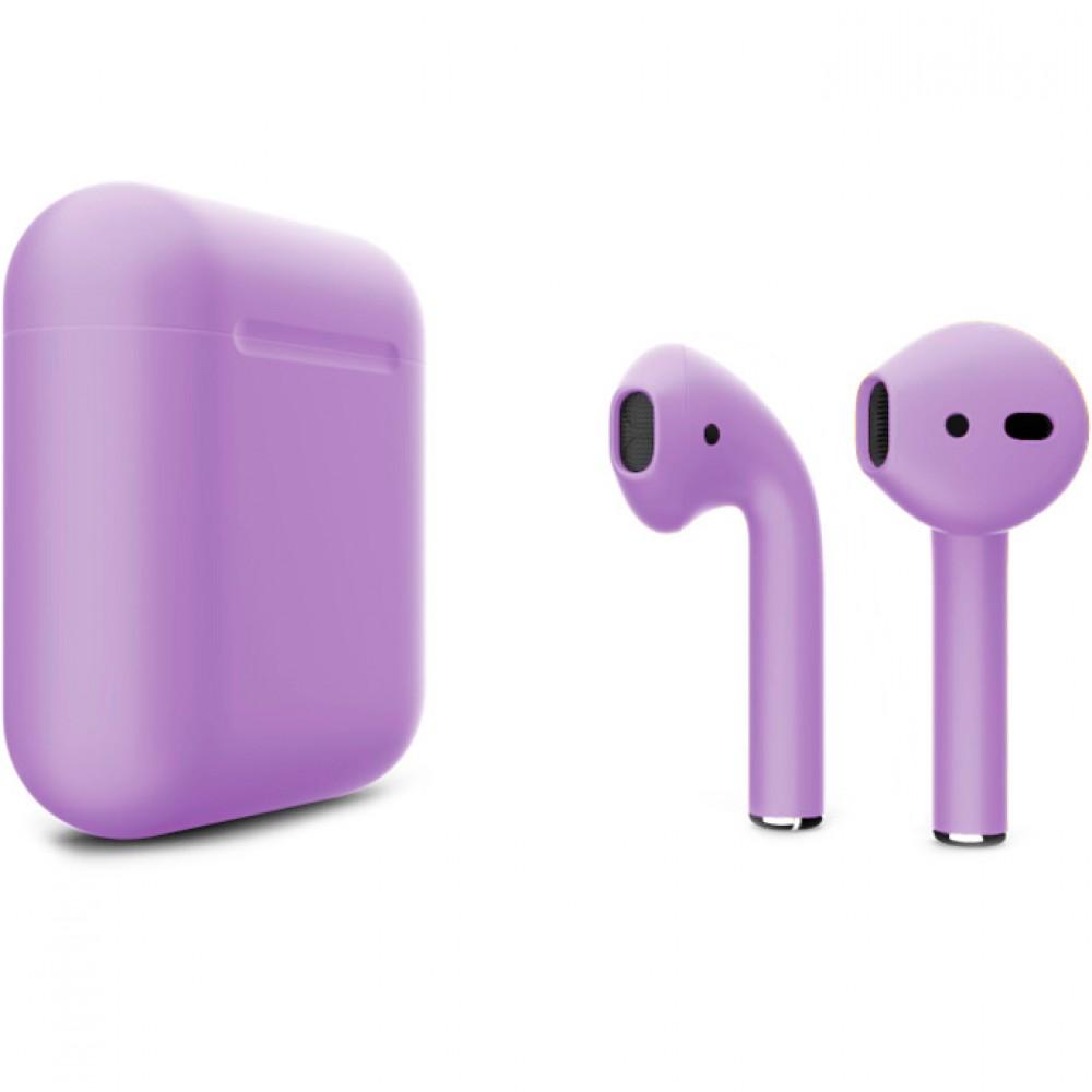 Apple AirPods 2 Color (беспроводная зарядка чехла), матовый фиалковый цвет