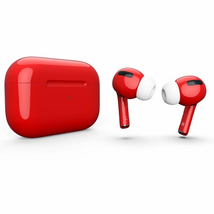 Apple AirPods Pro Color, глянцевый красный цвет
