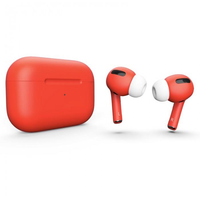 Apple AirPods Pro Color, матовый коралловый цвет