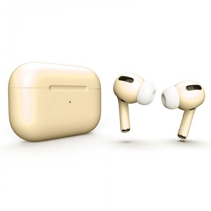 Apple AirPods Pro Color, матовый сливочный цвет
