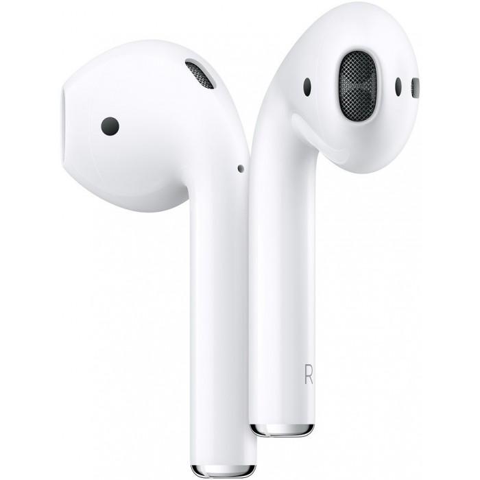 Apple AirPods 2 (с беспроводным зарядным футляром)