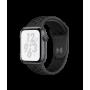Apple Watch Nike+ Series 4, 44 мм, корпус из алюминия цвета «серый космос», спортивный ремешок Nike цвета «антрацитовый/чёрный»