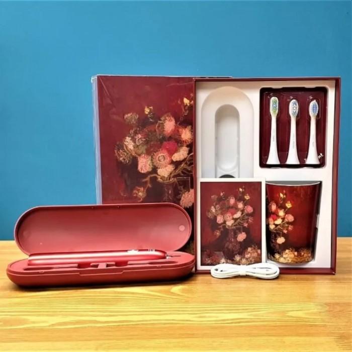 Электрическая зубная щётка Soocas X3U Van Gogh Museum Design, красный цвет
