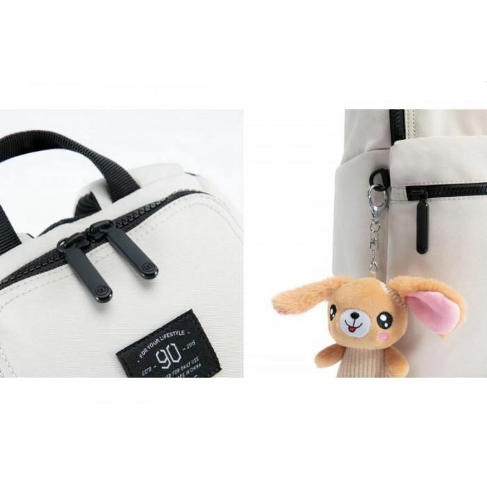 Городской рюкзак Xiaomi 90 Points Pro Leisure Travel Backpack 10, серый цвет